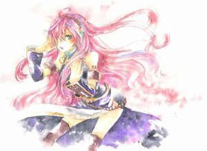 Rating: Safe Score: 9 Tags: headphones megurine_luka nagino_hiiragi vocaloid User: Radioactive