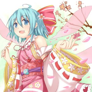 Rating: Safe Score: 27 Tags: cirno efe japanese_clothes touhou User: fairyren