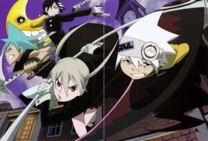 Rating: Safe Score: 6 Tags: black_star death_the_kid gap maka_albarn screening soul_eater soul_eater_(character) User: charunetra