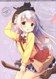 Rating: Safe Score: 27 Tags: chocolate_cube heterochromia miwa_futaba neko seifuku sweater User: Radioactive