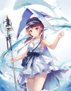 Rating: Safe Score: 20 Tags: arknights cleavage dress huoyunxieshen purestream_(arknights) tagme weapon wet User: Arsy