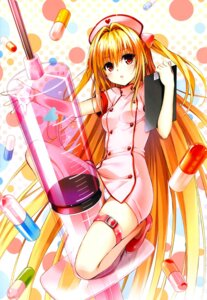 Rating: Safe Score: 140 Tags: garter golden_darkness nurse pantsu to_love_ru yabuki_kentarou User: hecfa