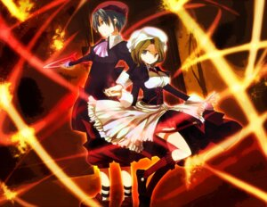 Rating: Safe Score: 6 Tags: hanui kanon_(umineko) maid shannon umineko_no_naku_koro_ni User: 洛井夏石