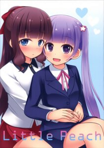 Rating: Safe Score: 17 Tags: business_suit new_game! suzukaze_aoba tagme takimoto_hifumi User: Radioactive