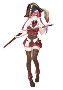 Rating: Safe Score: 20 Tags: da_chu_z_jun hololive houshou_marine pirate sword thighhighs User: YajuuSenpai