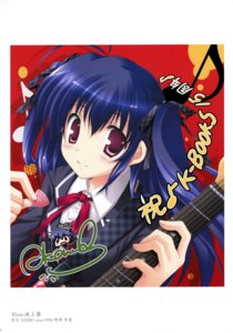 Rating: Safe Score: 9 Tags: autographed guitar ikegami_akane k-books seifuku User: WtfCakes