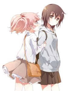 Rating: Safe Score: 25 Tags: funami_yui namori yoshikawa_chinatsu yuru_yuri User: DarkRoseofHell