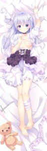 Rating: Questionable Score: 64 Tags: areola bandages breast_hold dakimakura dress kinokomushi no_bra open_shirt User: yanis
