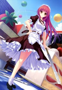 Rating: Safe Score: 84 Tags: leki_vestoria_floria maid ryuuyoku_no_melodia sword tenmaso whirlpool User: Twinsenzw