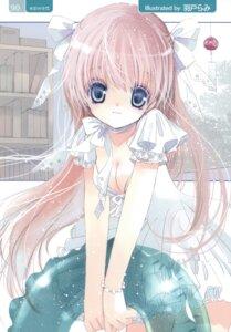 Rating: Safe Score: 41 Tags: cleavage dress hato_no_tamago rami summer_dress User: petopeto