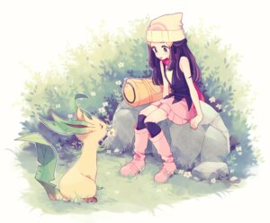 Rating: Safe Score: 20 Tags: hikari_(pokemon) komasawa_(fmn-ppp) leafeon pokemon User: BattlequeenYume