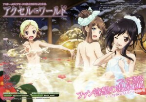 Rating: Questionable Score: 67 Tags: accel_world bathing kurasaki_fuuko kurashima_chiyuri kuroyukihime naked onsen sawada_mika towel User: omegamax