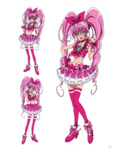 Rating: Questionable Score: 6 Tags: heels houjou_hibiki hummy neko pretty_cure suite_pretty_cure takahashi_akira thighhighs User: drop