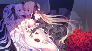 Rating: Questionable Score: 82 Tags: cream dress naked niliu_chahui nipples wallpaper yuri User: Mr_GT