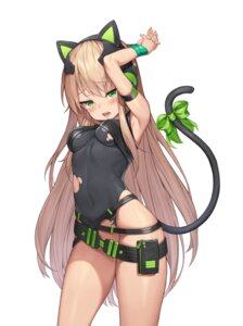 Rating: Questionable Score: 60 Tags: animal_ears bottomless girls_frontline headphones mokew nekomimi tail tmp_(girls_frontline) torn_clothes User: Mr_GT