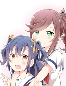 Rating: Safe Score: 13 Tags: high_school_fleet ise_sakura seifuku suruga_runa yasaka_shuu User: saemonnokami