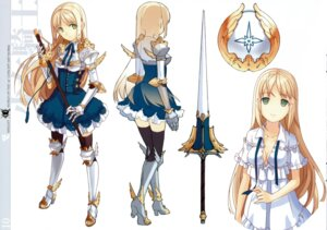 Rating: Safe Score: 54 Tags: armor cleavage h2so4 island_of_horizon sword thighhighs undressing User: Radioactive