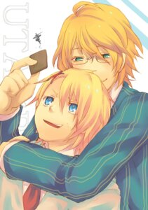 Rating: Safe Score: 2 Tags: kurusu_shou male megane shinomiya_natsuki tagme uta_no_prince_sama User: charunetra