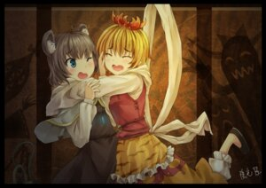 Rating: Safe Score: 13 Tags: nazrin oto_taku toramaru_shou touhou User: Mr_GT