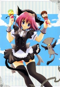 Rating: Questionable Score: 15 Tags: animal_ears izumi_tsubasu lolita_fashion nekomimi pantsu tail thighhighs User: petopeto