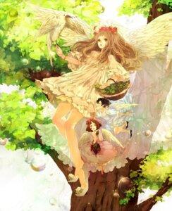 Rating: Safe Score: 18 Tags: angel dress reitei wings User: blooregardo