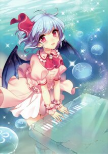 Rating: Safe Score: 43 Tags: masaru remilia_scarlet touhou wings User: Mr_GT