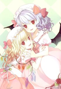 Rating: Safe Score: 13 Tags: flandre_scarlet microstoria remilia_scarlet tommy touhou User: thfp