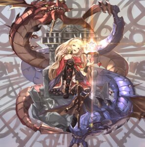 Rating: Safe Score: 44 Tags: cagliostro_(granblue_fantasy) granblue_fantasy kumonji_aruto monster thighhighs User: Mr_GT