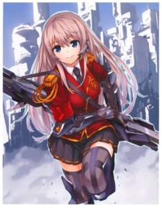 Rating: Safe Score: 92 Tags: armor kaku-san-sei_million_arthur saitom seifuku shiengata_selenite thighhighs User: Radioactive