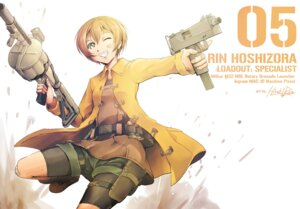 Rating: Safe Score: 28 Tags: bandaid bike_shorts gun hiroki_ree hoshizora_rin love_live! User: Radioactive