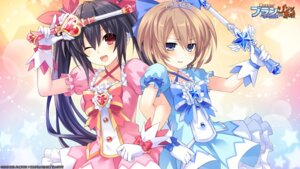 Rating: Safe Score: 75 Tags: blanc choujigen_game_neptune compile_heart dress gekijigen_tag_blanc_+_neptune_vs_zombie_platoon idea_factory noire tsunako weapon User: Mr_GT