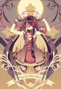 Rating: Questionable Score: 43 Tags: dress gun ovos sepia thighhighs wings User: Mr_GT