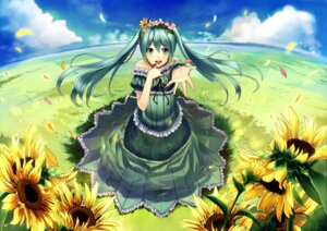 Rating: Safe Score: 26 Tags: dress hatsune_miku ichiko_oharu vocaloid User: Nekotsúh
