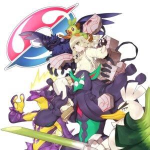 Rating: Safe Score: 11 Tags: corviknight grimmsnarl grookey hitoto pokemon runerigus sirfetch'd toxtricity User: Dreista