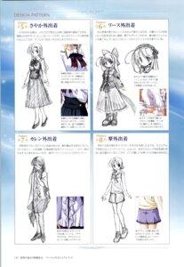 Rating: Safe Score: 2 Tags: bekkankou hozumi_sayaka karen_clavius sketch toyama_midori wreathlit_noel yoake_mae_yori_ruriiro_na User: admin2