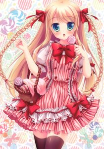 Rating: Questionable Score: 4 Tags: dress tagme thighhighs User: Radioactive