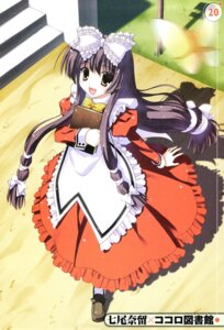 Rating: Safe Score: 20 Tags: dress kokoro_(kokoro_toshokan) kokoro_toshokan lolita_fashion maid nanao_naru screening User: admin2