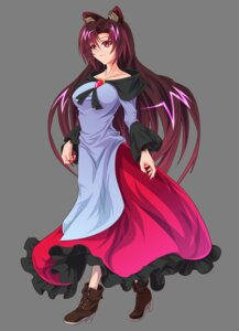 Rating: Safe Score: 12 Tags: animal_ears dress heels imaizumi_kagerou tail touhou transparent_png zephid User: charunetra