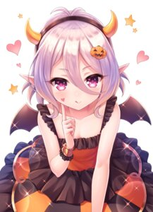 Rating: Safe Score: 43 Tags: cleavage dress halloween horns kokkoro pointy_ears princess_connect princess_connect!_re:dive tomo_(user_hes4085) wings User: Mr_GT