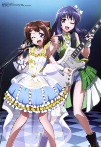 Rating: Questionable Score: 39 Tags: bang_dream! dress guitar oguri_hiroko toyama_kasumi ushigome_yuri User: drop