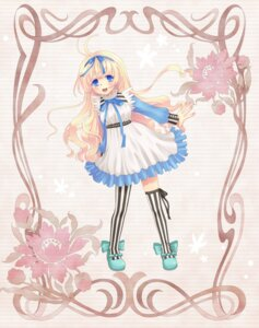 Rating: Safe Score: 7 Tags: dress thighhighs yoshimi_takumi User: fireattack