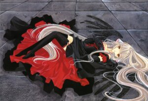 Rating: Safe Score: 18 Tags: chobits clamp dress fixed freya stockings thighhighs User: MosquitoJack