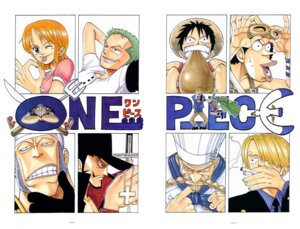 Rating: Safe Score: 5 Tags: don_krieg dracule_mihawk johnny_(one_piece) monkey_d_luffy nami oda_eiichirou one_piece patty_(one_piece) roronoa_zoro sanji usopp yosaku zeff User: Davison