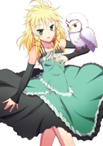 Rating: Safe Score: 32 Tags: black_bullet dress ookami_maito tina_sprout User: charunetra