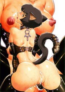 Rating: Explicit Score: 24 Tags: animal_ears ass bottomless breasts censored hq's kajiyama_hiroshi nekomimi nipples pussy pussy_juice scanning_artifacts tail thighhighs User: Radioactive