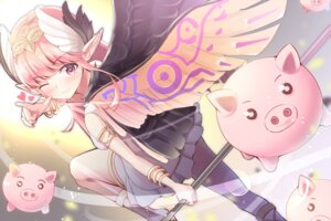 Rating: Safe Score: 23 Tags: circe fate/grand_order hamalu pointy_ears weapon wings User: Nepcoheart