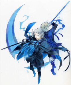 Rating: Safe Score: 7 Tags: eliot_nightray male mochizuki_jun oz_vessalius pandora_hearts sword User: Radioactive