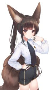 Rating: Safe Score: 30 Tags: a20_(atsumaru) animal_ears tail uniform User: Dreista