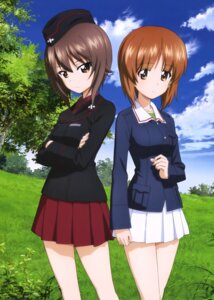 Rating: Safe Score: 26 Tags: girls_und_panzer nishizumi_maho nishizumi_miho seifuku uniform User: drop