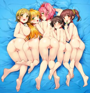 Rating: Explicit Score: 162 Tags: ass censored feet jougasaki_mika jougasaki_rika katsurai_yoshiaki naked nipples pussy the_idolm@ster the_idolm@ster_cinderella_girls User: mash